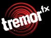 Tremor FX Logo White on Black